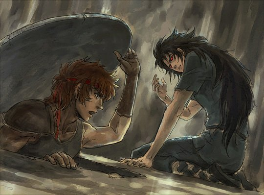 Aiolos et Saga