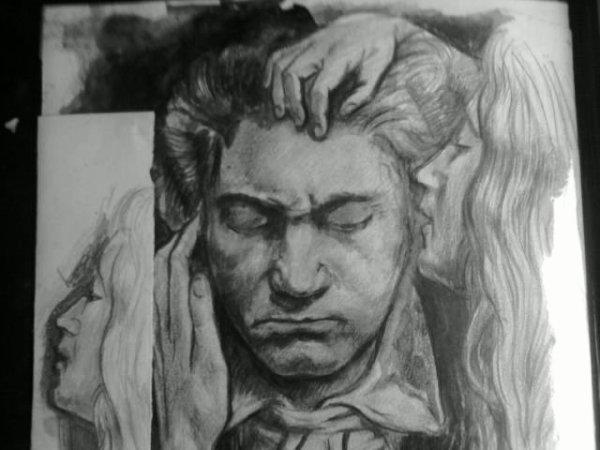 VIII] Musicien Beethoven et une Muse