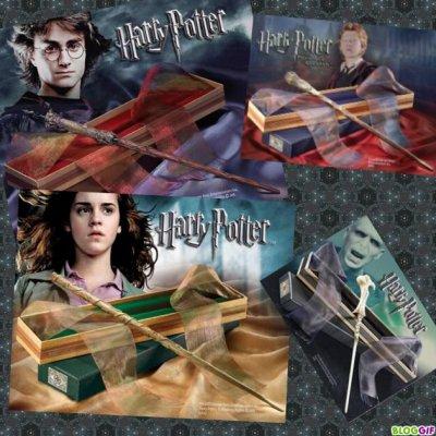 Les baguettes magiques