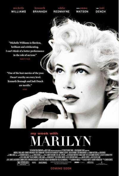 """Des nouvelles sur """"My Week with Marilyn"""" avec Michelle Williams, 'Emma Watson, Kenneth Branagh, Judi Dench et le réalisateur Simon Curtis"""