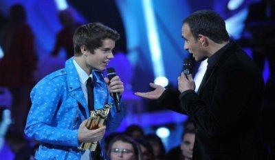 Justin Bieber au NRJ MUSIC AWARDS 2012