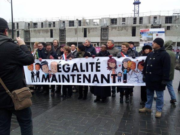 Suite des photos de la manif à Nantes