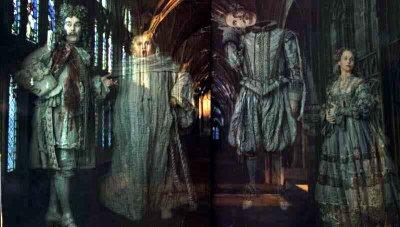 Les fantômes de Poudlard