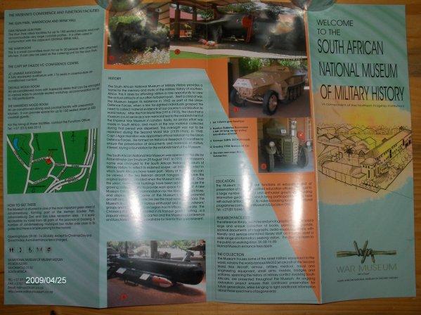 3. La brochure de présentation du Musée