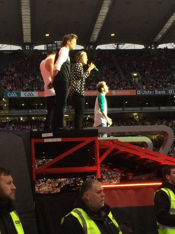 Les One Direction à Dublin