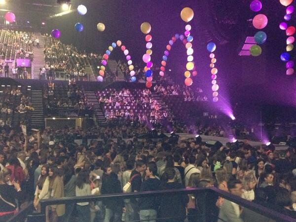 Miley Cyrus à Montpellier : Bangerz Tour