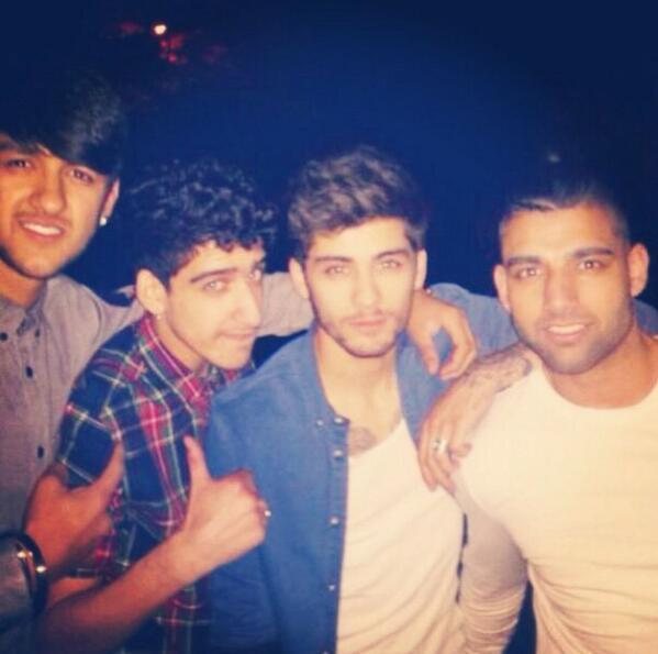 Zayn Malik et ses Cousins