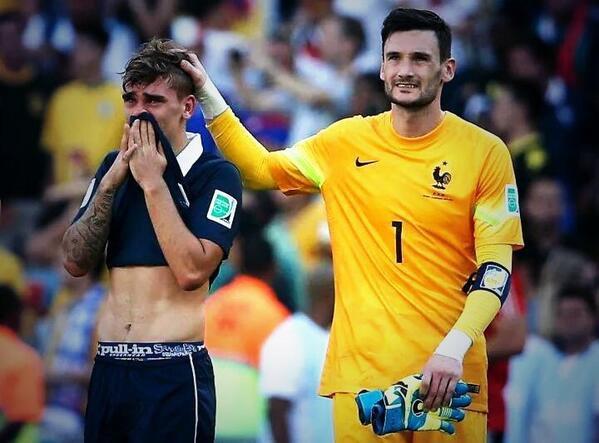 France-Allemagne réaction d'Antoine Griezmann