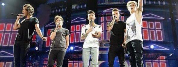 Quel est le Rituel des One Direction avant d'aller sur scène ?