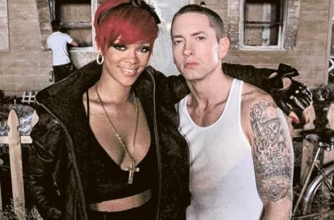 """Rihanna et Eminem """" Als Ice Bucket Challenge sur le Monster Tour ! """""""