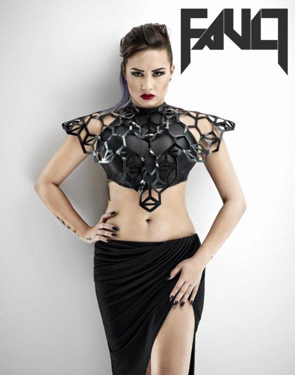 "Demi Lovato Photoshoot "" Fault Magazine"""