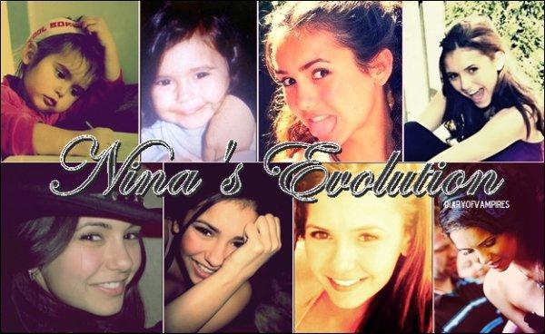 f La maman de Nina a posté des photos tout chous d'elle quand elle était petite. f