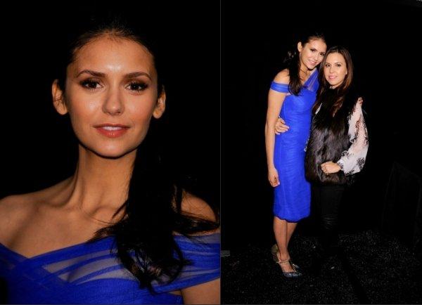 f CANDIDS du 12/o2/12. Nina s'est rendu à la Fashion Week de New York et a assistée à plusieurs défilés (3). f