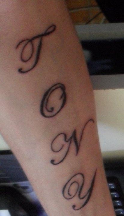 Mon Tattoo Le Prenom De Mon Fils