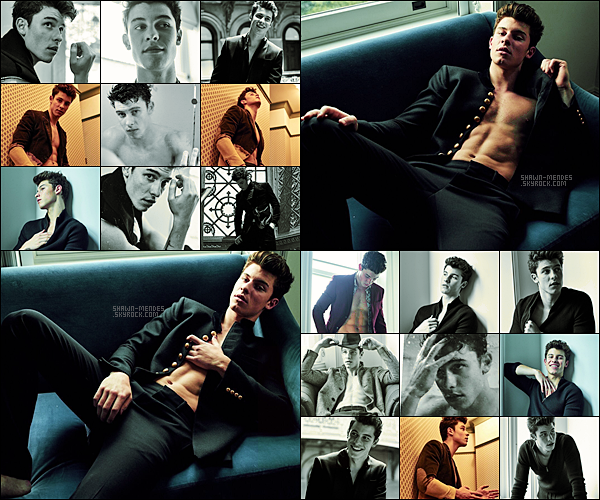 . Découvrez le nouveau photoshooting de Shawn pour« L'uomo Vogue Magazine » pour la version italienne ! .