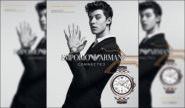 .  ▬ Shawn Mendes devient la nouvelle égerie d'Armani découvrez le photoshoot!    .