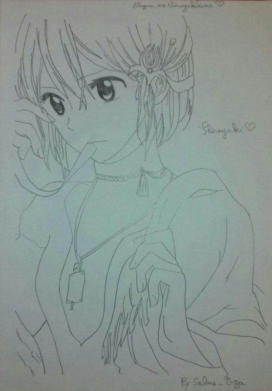 Dessin #21: Shirayuki