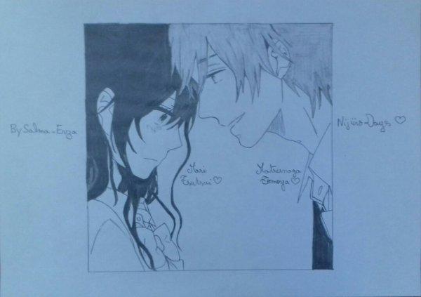 Dessin #22 : Mari & Matsunaga ❤