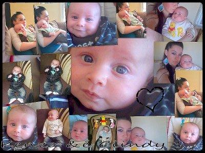 Kenzo et la marraine de mon futur bébé