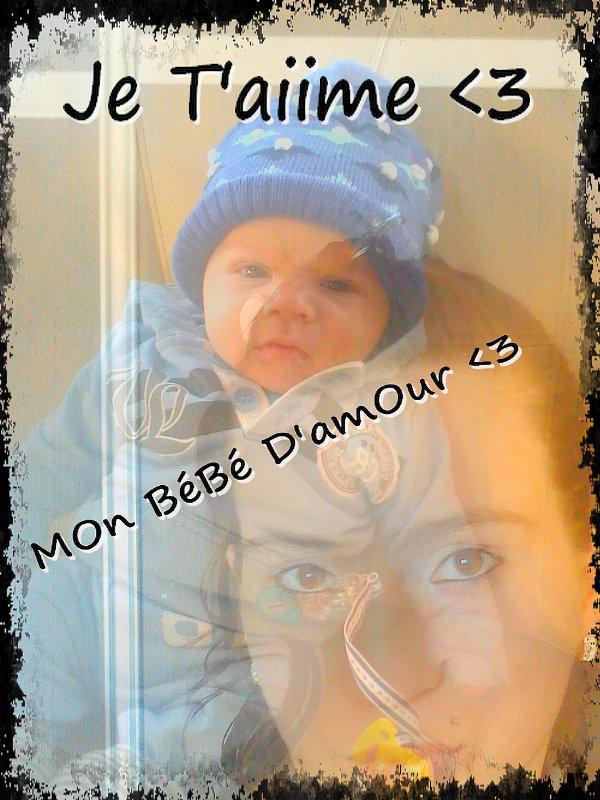 Mon Fils est née le 28 NOVEMBRE 2012 à 20H04 <3 Je t'aime mon ptit homme