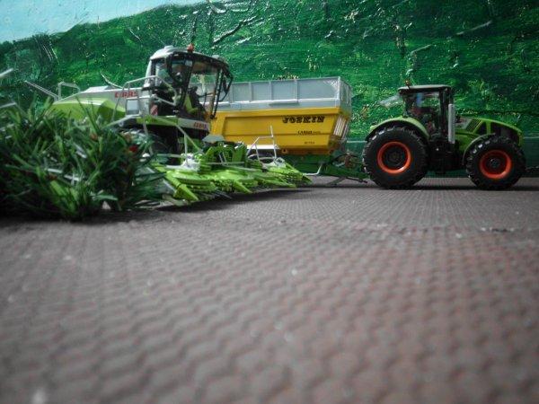 ensilage des mais avec l entreprise agricole marschalle