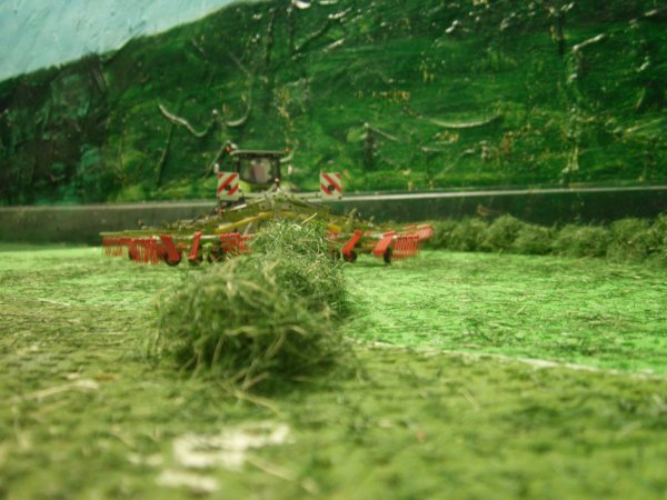 andainage pour les ensilages par l entreprise agricole marschalle