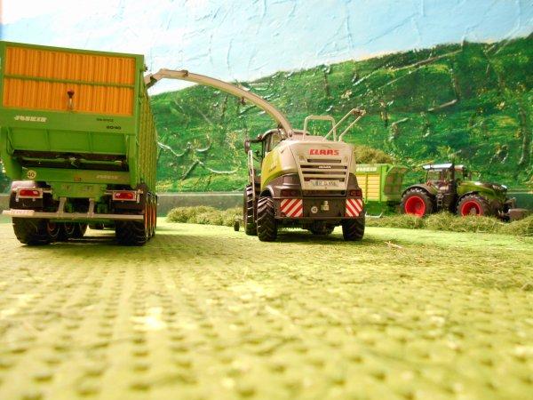 ensilage avec l entreprise agricole marschalle