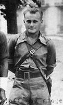 """L'entourage du groupe Manouchian : Joseph Epstein (dit """"le colonel Gilles"""")"""