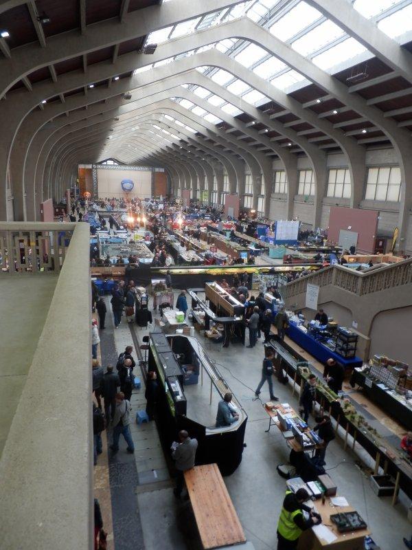 Maquettexpo 2015 : dans une grande halle des Trains rénovée