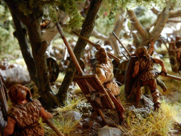 Dioramas trouvés sur le net : Teutoburg