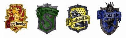 Les quatres maison de Poudlard