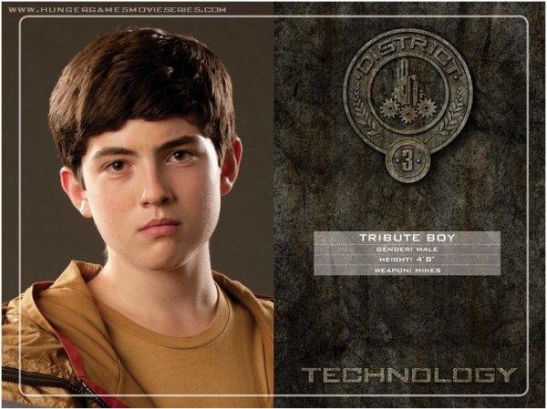 District 3 : La technologie, comme les divertissements, les gadgets et les appareils de communication.
