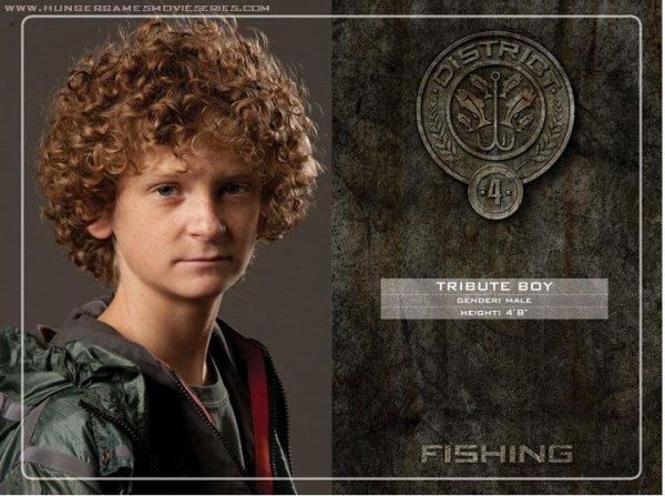 District 4 : La pêche, comme les poissons, les fruits de mer et les algues.