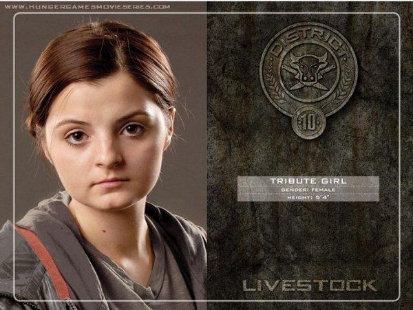 District 10 : Le bétail, comme le b½uf, le porc et les volailles.