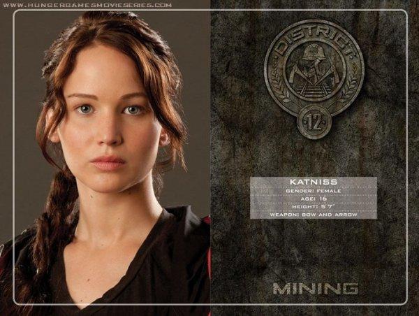 District 12 : Les ressources minérales, comme le charbon, les métaux et les pierres.