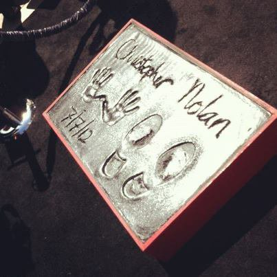 Christopher Nolan sur Hollywood Boulevard