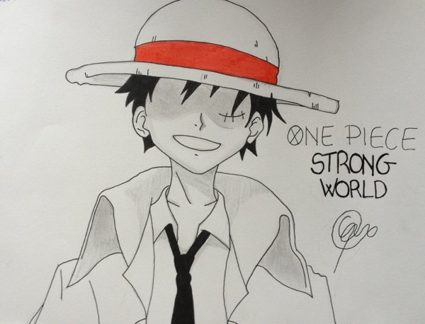 Luffy Strong World