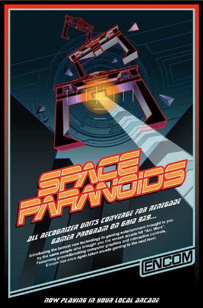 "Space Paranoids "" Tron Legacy """