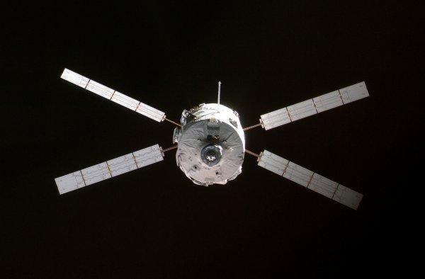 ISS & ATV2 Johannes Kepler