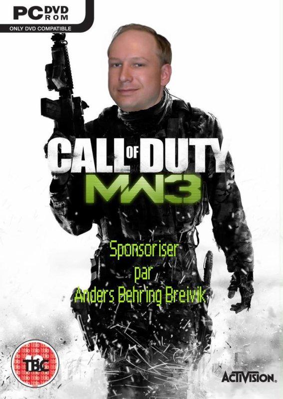 /!\ Call of Duty Sponsoriser par Anders Behring Breivik!!! /!\