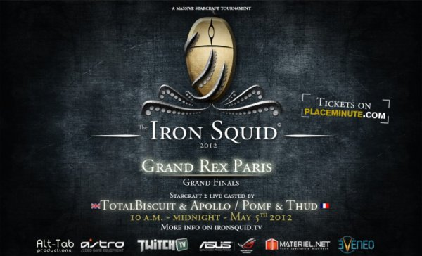 IRON SQUID au GRAND REX