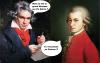 Beethoven et Mozart parlent Musique 2 HQ ^^