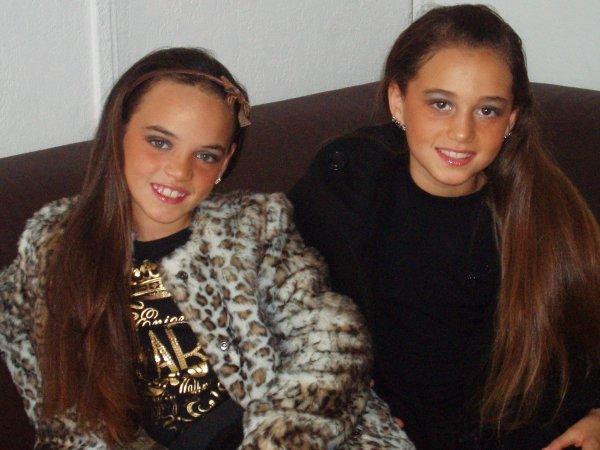 moi   et mes cousine