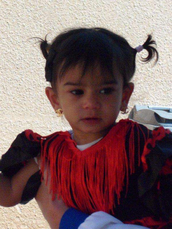 ma princesse en mode espagnole