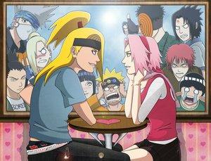 OS Sakura & Deidara