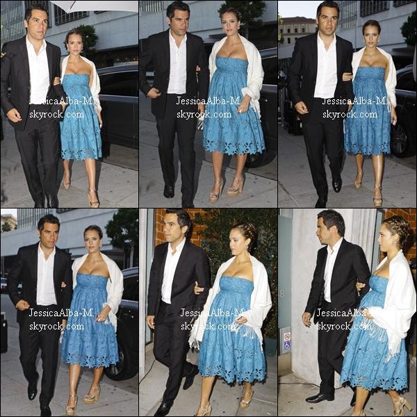 . 25.06.11 | Jessica & Cash sont allés diner avec Nicole Richie à  Mr Chow. .
