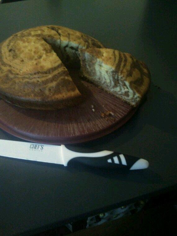 Mon zebra cake, avis ? :3