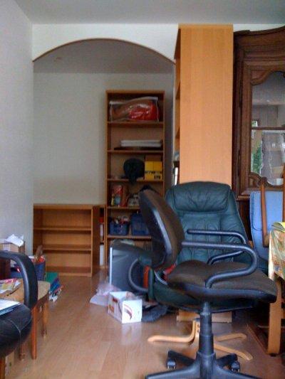vue de l'entrée de l'appartement