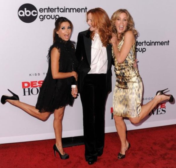 Desperate housewives :les actrices font la fête
