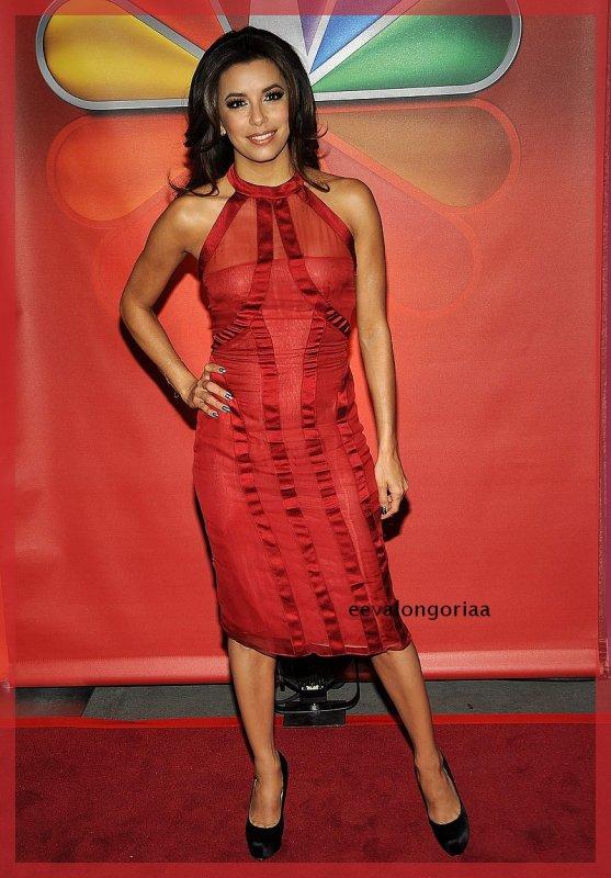 lundi 14 mai 2012... Eva à la présentation de la Saison d'Automne de NBC à New-York -